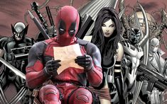 Check out this awesome collection of Awesome Ryan Reynolds Has Crazy Plans For Deadpool 3 And X Force is the top choice wallpaper images for your desktop, smartphone, or tablet. Cool Wallpapers For Phones, Wallpaper Wallpapers, Iphone Wallpaper, Deadpool 3, Deadpool Movie, Comic Book Characters, Comic Books, Fictional Characters, Deadpool Wallpaper