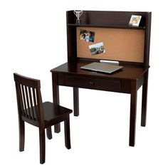 (Open Box) Pinboard Desk and Chair Set by KidKraft at BabyEarth.com, $161.13