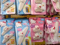 Kitty things in Daiso -- Japanese 100 Yen shop