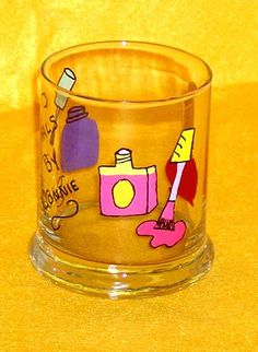 Nail Tech Tip Jar Or Pencil Pen Holder By Conniescreations2010 10 00 Jars
