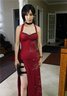 Ada Wong/Bingbing Li. Possible awesome Halloween costume to go along with my soon-to-be awesome hairstyle.