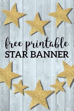 Gold Star Banner Chr
