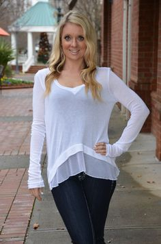 Alter Ego top, white – Chapter 2 Boutique