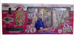 Dream Fashion Show Doll Set With All Fashion Accessories