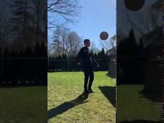 Soccerball Juggle with a 360 turn: @gophersport #PHEatHome #PhysicalEducation #soccer #juggle Physical Education, Literacy, Physics, Coaching, Soccer, Training, Futbol, Physical Education Lessons, European Football