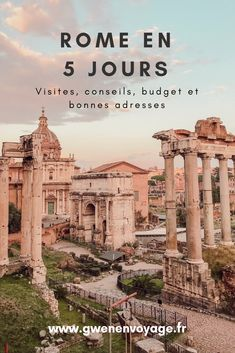 Rome, the ideal city to taste the Dolce Vita! Discover Rome in 5 days: tours, restaurants, budget and itinerary. Destinations D'europe, Travel Around The World, Around The Worlds, Voyage Rome, Viewing Wildlife, Rome Restaurants, Rome Travel, City Break, Toscana