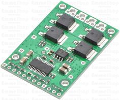 Pololu High-Power Motor Driver 18v25 CS This discrete MOSFET H-bridge motor driver enables bidirectional control of one high-power DC brushed motor.