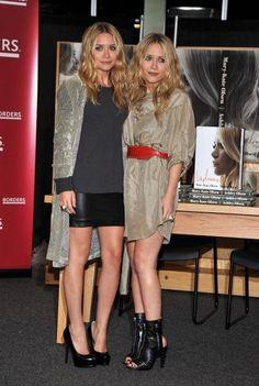 Mary Kate and Ashley Olsen fashion style