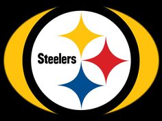 printable pittsburgh steelers logo nfl logos pinterest rh pinterest com Steelers Logo Drawing Black and White Steelers Logo