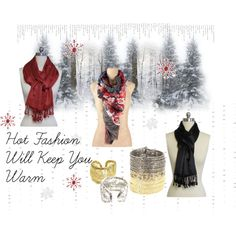 """Hot Fashion Will Keep You Warm"" by bridget-lee on Polyvore"