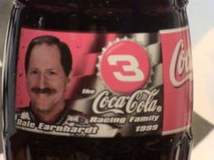 1999 Dale Earnhardt Sr #3 Coca Cola Bottle Unopened Full 8 oz