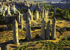 Greme National Park and the Rock Sites of Cappadocia