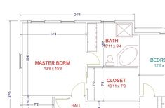 Master Bathroom Floor Plans - Home design blog
