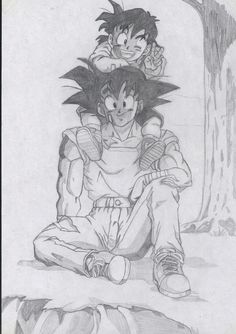 #anime #drawing #dragon balls