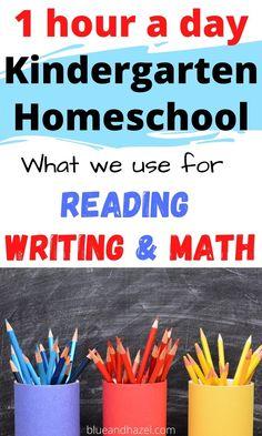 Kindergarten Routines, Homeschool Kindergarten, Homeschooling Resources, Kids Learning, Learning Activities, Early Learning, Creative Teaching, Planer, Blog