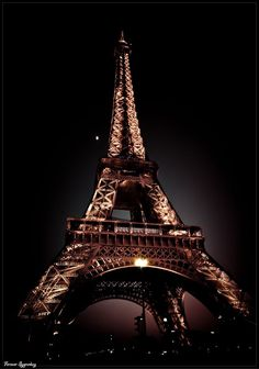 Eiffel Tower at night, Paris, France. Torre Eiffel Paris, Paris Eiffel Tower, Paris Tour, Paris City, Paris France, Eiffel Tower At Night, Paris Wallpaper, Tours, Paris Travel