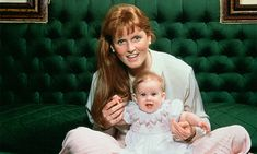 At just a few months old, Beatrice was already the spitting image of her stylish mom, Sarah Ferguson.  <br>Photo: © Tim Graham Picture Library/Getty Images