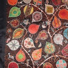 """Gorgeous Autumn Scarf ' Colorful Leaves"""" Gorgeous Autumn Scarf Leaves of many colors ⚜ 100% Polyester and Size is 35"""" X 37"""" inches⚜ No Trades ⚜ No Offline Sales PP ⚜ All Reasonable Offers Welcome ⚜ Bundle & Save 20% Off on 2 or More Items! Shining Story Fashions Accessories Scarves & Wraps"""