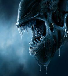 Alien Pictures, Alien Photos, Les Aliens, Aliens Movie, Alien Vs Predator, Giger Art, Hr Giger, Giger Alien, Alien 1979