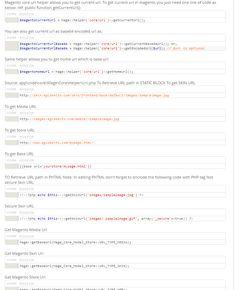 How to get Urls in Magento - Read more at http://www.eglobeits.com/blog/magento-urls/