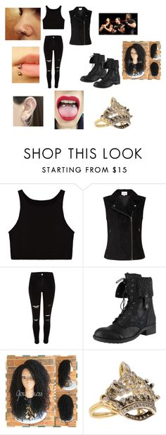 """""""The Shield's Diva"""" by simply-07 on Polyvore featuring River Island, Rebels and Otis Jaxon"""
