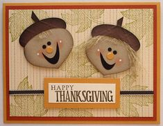 Stampin Up Thanksgiving Cards | Introducing Annie & Andy Acorn! : Create with Valerie