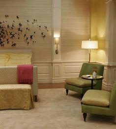 waldorf residence serenas bedroom gossip girl interiors set decoration by christina tonkin - Blair Waldorf Schlafzimmer Dekor