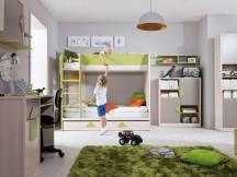 Študentská izba Strzalka Bunk Beds, Loft, Kids Rugs, Furniture, Home Decor, Decoration Home, Double Bunk Beds, Kid Friendly Rugs, Room Decor