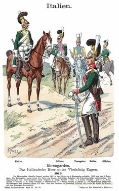 Italian Army, Army Uniform, Napoleonic Wars, Luftwaffe, Camel, Old Things, Military, Italy, Colours