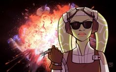 """lorna-ka: """"The latest Rebels episode once again proved that Hera is the coolest character on the whole show """" Sw Rebels, Star Wars Rebels, Star Wars Clone Wars, Star Wars Drawings, Wolf, War Comics, Fanart, Star Wars Fan Art, Star Wars Humor"""
