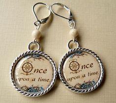 Fairy Tale Earrings Tile Earrings Fairy Tale by bluerosebeadery, $10.00