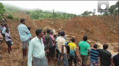 Sri Lanka: carrera contrarreloj para encontrar supervivientes bajo el lodo