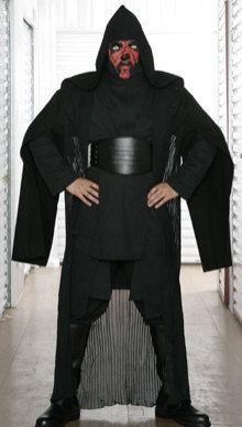 Star Wars Darth Maul Black Sith Costume with by JediRobeAmerica, $199.99