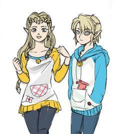 Modern Zelda and Link