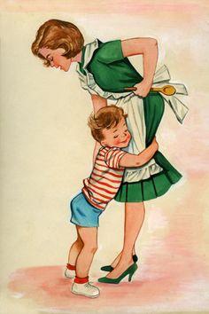 A hug for Mom