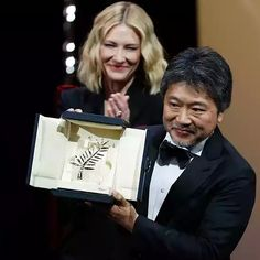 """The 71st annual Cannes Film Festival  closed this evening with Japanese director Hirokazu Kore-eda 's """"Shoplifters"""" winning the highest pri..."""