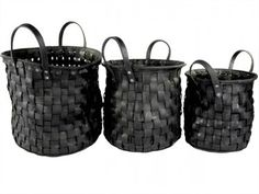 Upcycled & Recycled Tires baskets