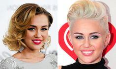 We ❤ Miley Cyrus' Radical Trendy Style Change #Hair #Colour #HairColouring #HairCut #Style #Cabello #Peluquería #Coloración #Estilo #Tendencia #Trend #Trendy