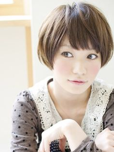 Japanese Short Hair on Pinterest