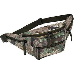 New Tree Camo Water Repellent Fanny Pack Camouflage Hunting Gear Waist Belt Bag * Click image to review more details.