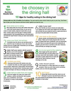 Infographic surviving the college dining hall college hall and how to eat healthy in the dining hall ccuart Gallery