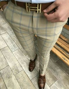 Description Product Name New Men's Casual Plaid Pants SKU Gender Men Season Spring/Summer Type Fashion Occasion Daily life Material Pattern Plain Please Note: All dimensions are measured manually with a deviation of 1 to Clothing Sites, Mens Clothing Styles, Mens Plaid Pants, Men Pants, Formal Men Outfit, Casual Outfits, Formal Pants, Fashion Pants, Mens Fashion