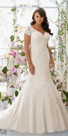 Mori Lee Plus Size Wedding Dress 3197