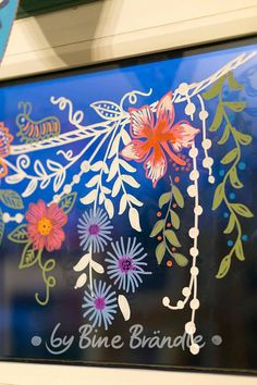 Good Template portfolio sunny days & flower desires 5 Elements Affecting The Value Of Laser Hair Rem Chalk Pens, Chalk Markers, Chalk Art, Painted Window Art, What Is Canvas, Window Markers, Art Sur Toile, Flower Window, Marker Art
