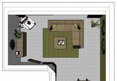Afbeeldingsresultaat voor indeling woonkamer l-vorm | Interieur ...