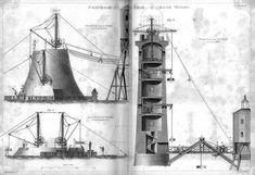Bell Rock Lighthouse, build 1807-1810