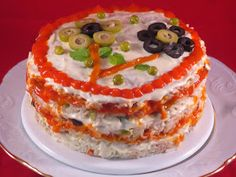 Pastel de ensalada de arroz Ana Sevilla con Thermomix