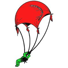 toyparachutes1 step How to Make Toy Parachute Crafts Instructions for Boys and Girls
