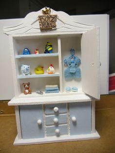 baby boy furniture with open door