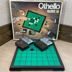 Japanese Vintage Othello game Japanese Board Game Othello Made by Tsukuda Japan SIGNED 1970s Japanese OTHELLO Big Size Game (#1143) Othello Game, Most Popular Boards, Japan Time, Japan Post, Vintage Japanese, Board Games, 1970s, Signs, The Originals